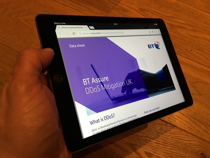 BT Leased Lines DDOS