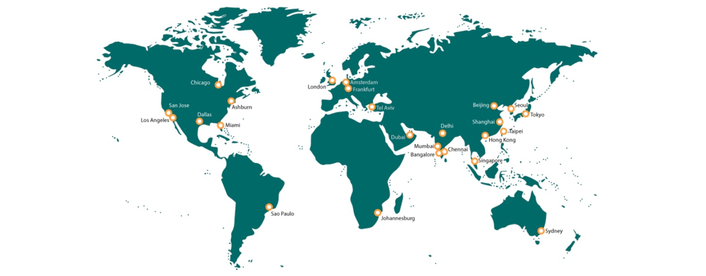 SD WAN Provider map
